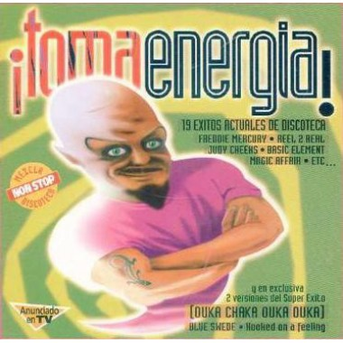 "¡TOMA ENERGIA!"" (CD - Mixed)"
