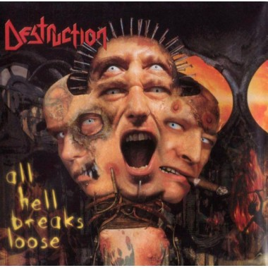 "DESTRUCTION ""ALL HELL BREAKS LOOSE"" (CD)"