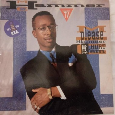 "MC HAMMER ""PLEASE HAMMER DONT HURT 'EM"" (LP)"