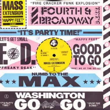 "MASS EXTENSION ""HAPPY FEET"" (12"")"