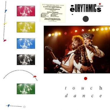 "EURYTHMICS ""TOUCH DANCE"" (LP)"