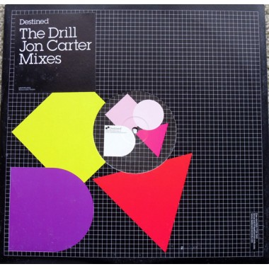 "THE DRILL ""THE DRILL (JON CARTER MIXES)"" (12"")"