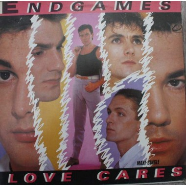 "ENDGAMES ""LOVE CARES / READY OR NOT"" (12"")"
