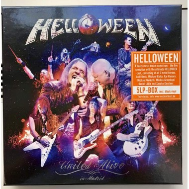 "HELLOWEEN ""UNITED ALIVE IN MADRID"" (5xLP - BOX SET)"