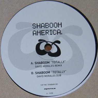 "SHABOOM ‎""TOTALLY"" (12"")"