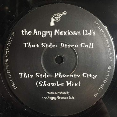 "ANGRY MEXICAN DJs ""DISCO CALL / PHOENIX CITY"" (12"")"