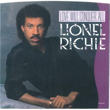 "LIONEL RICHIE ""LOVE WILL CONQUER ALL"" (12"")*"
